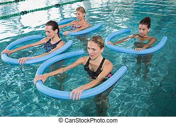 aerobica, w, aqua, classe salute