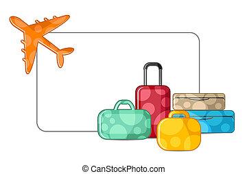 aeroplano, bagaglio