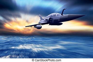 aeroplano militare, velocità