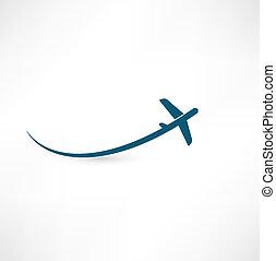 aeroplano, simbolo