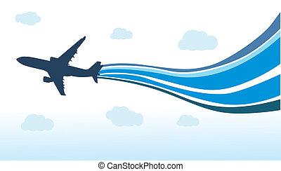 aeroplano, volare