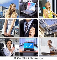 affari, collage