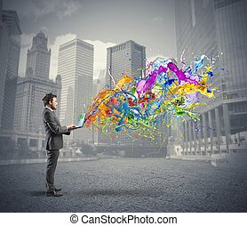 affari, creativo