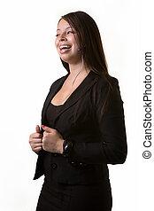 affari donna, ridere