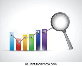 affari, grafico, analisi, disegno, illustrazione, dati