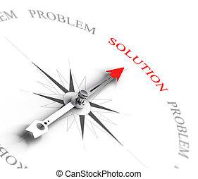 affari, -, problema, consulente, risolvere, soluzione, vs