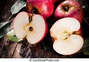 affettato, mela