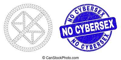 afflizione, cybersex, web, maglia, fermata, blu, lettera, sigillo, francobollo, no