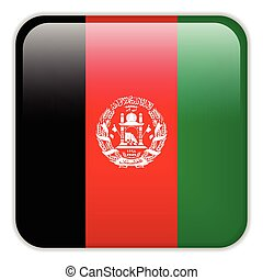 afghanistan, smartphone, bottoni, domanda, bandiera, quadrato