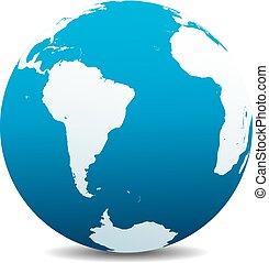 africa, mondo, america, sud