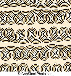 aggrovigliato, knots-bundle, seamless, corda