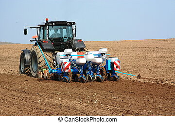 agricolo, piantatore