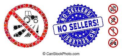 agricoltura, grunge, campo, collage, no, icona, francobollo, sellers!