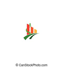 agricoltura, icona, albero