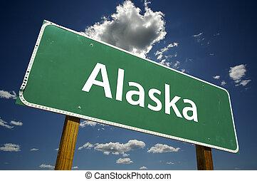 alaska, segno strada