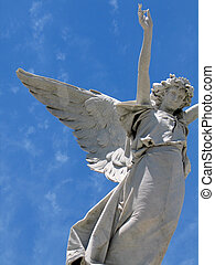 alato, angelo