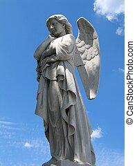 alato, statua angelo