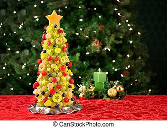 albero frutta, natale