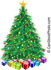 albero natale, regali