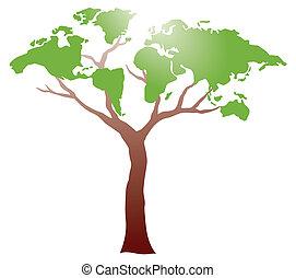 albero, worldmap