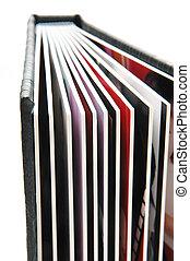 album, foto, 3, nero