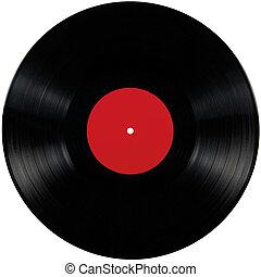 album, gioco, disco, isolato, lungo, nero, vinile, lp, vuoto, disco