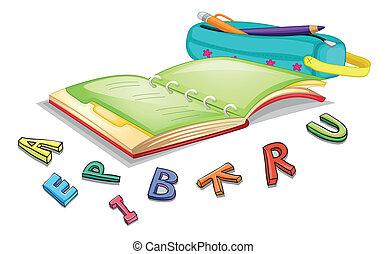 alfabeti, libro