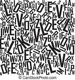 alfabeto, fondo