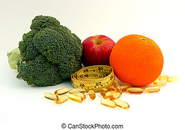 alimento supplemento, healty