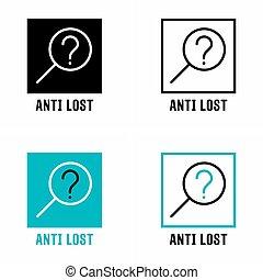 """allarme, lost"""", """"anti, domanda, sistema"""