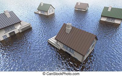 alluvionato, case