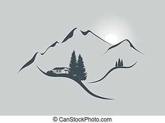 alpi, alba