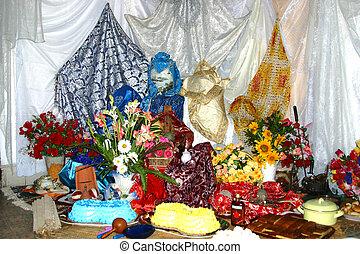 altare, santeria, cuba