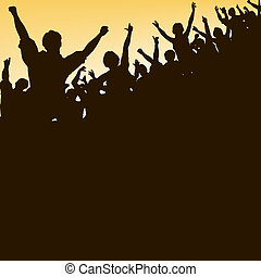 alto, folla