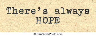 always, là, speranza
