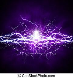ambientale, astratto, sfondi, light., potere