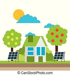 ambiente, città, energia, ecologia, verde