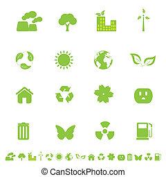 ambiente, eco, simboli