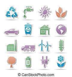 ambiente, ecologia, oggetti