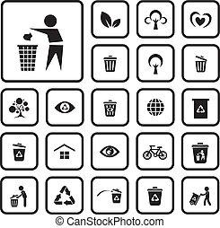 ambiente, icona