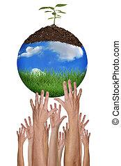 ambiente, protezione, possibile, insieme
