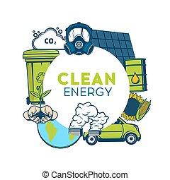 ambiente, riciclaggio, energia, spreco, verde, pulito