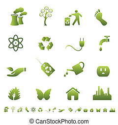 ambiente, simboli, ecologia