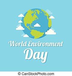 ambiente, terra, parola, giorno, fondo
