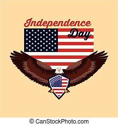 america, giorno, indipendenza