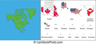 america, nord