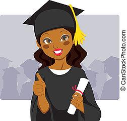 americano, africano, laureato