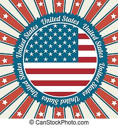 americano, disegno