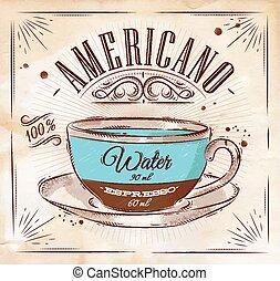 americano, manifesto, kraft