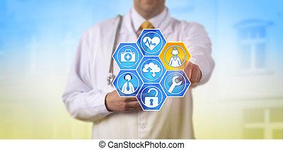 amministrato, dottore, salute, servizi, attivare, cura
